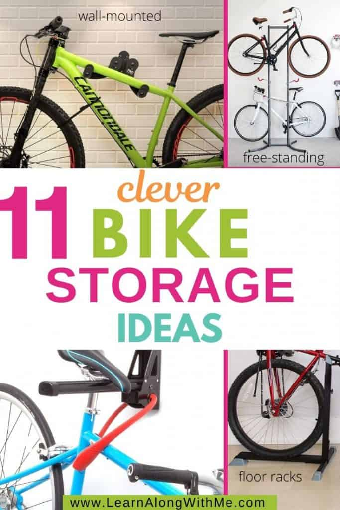 Bike Storage ideas for your garage and home