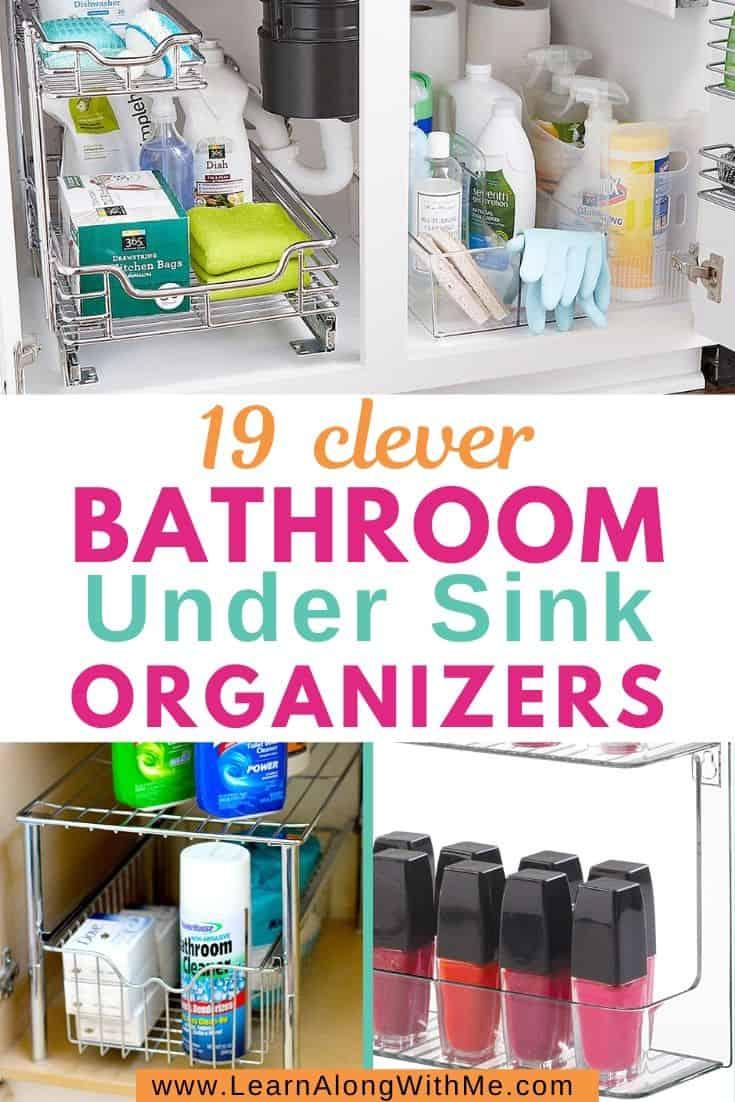 Bathroom Under Sink Organizers