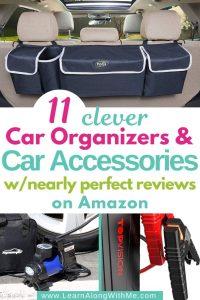car organizers on Amazon