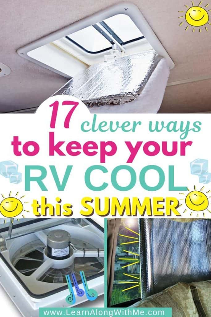 How to keep your RV cool in summer - 17 ways on how to keep RV cool in summer