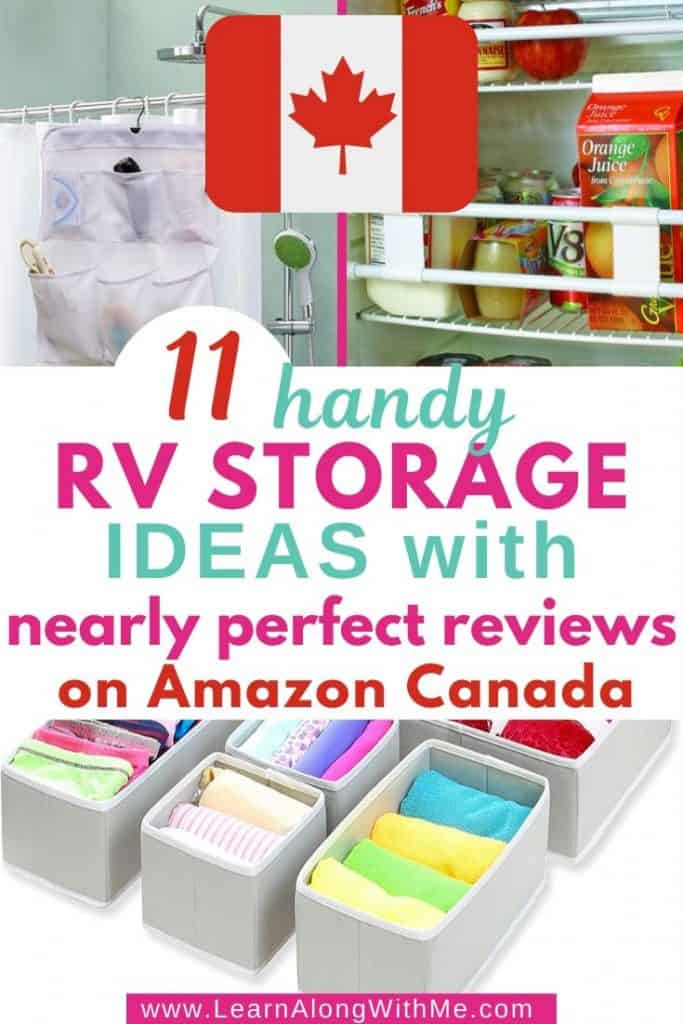 11 Handy RV Storage ideas with nearly perfect reviews on Amazon Canada