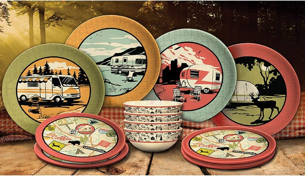 How to stop rattles in your RV - use plastic dishes