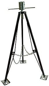 King Pin Tripod 5th wheel stabilizer helps to support and stabilize the front of your 5th wheel trailer