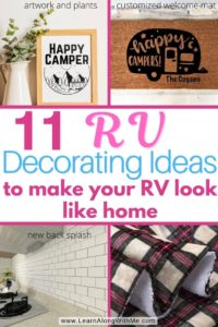 11 RV decorating ideas to make your RV feel more like home