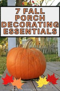 7 fall porch decorating essentials