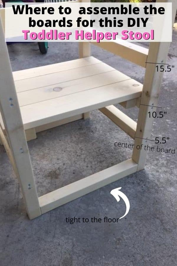 how to build a toddler kitchen helper stool (some people call it a toddler tower)