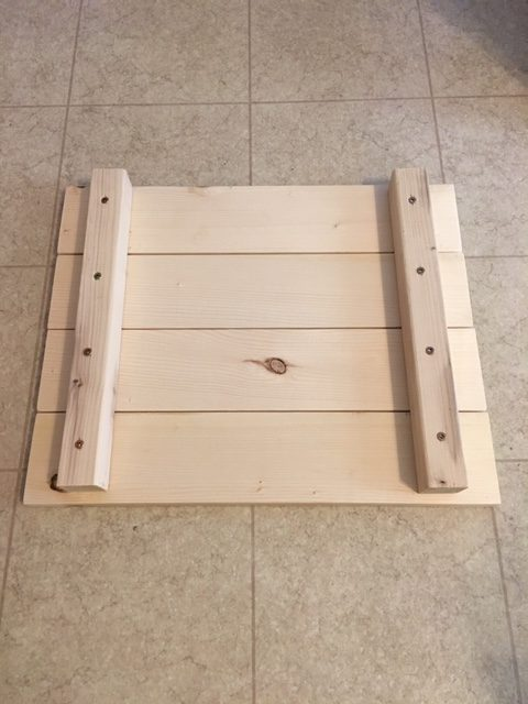 how to build a DIY toddler kitchen helper stool