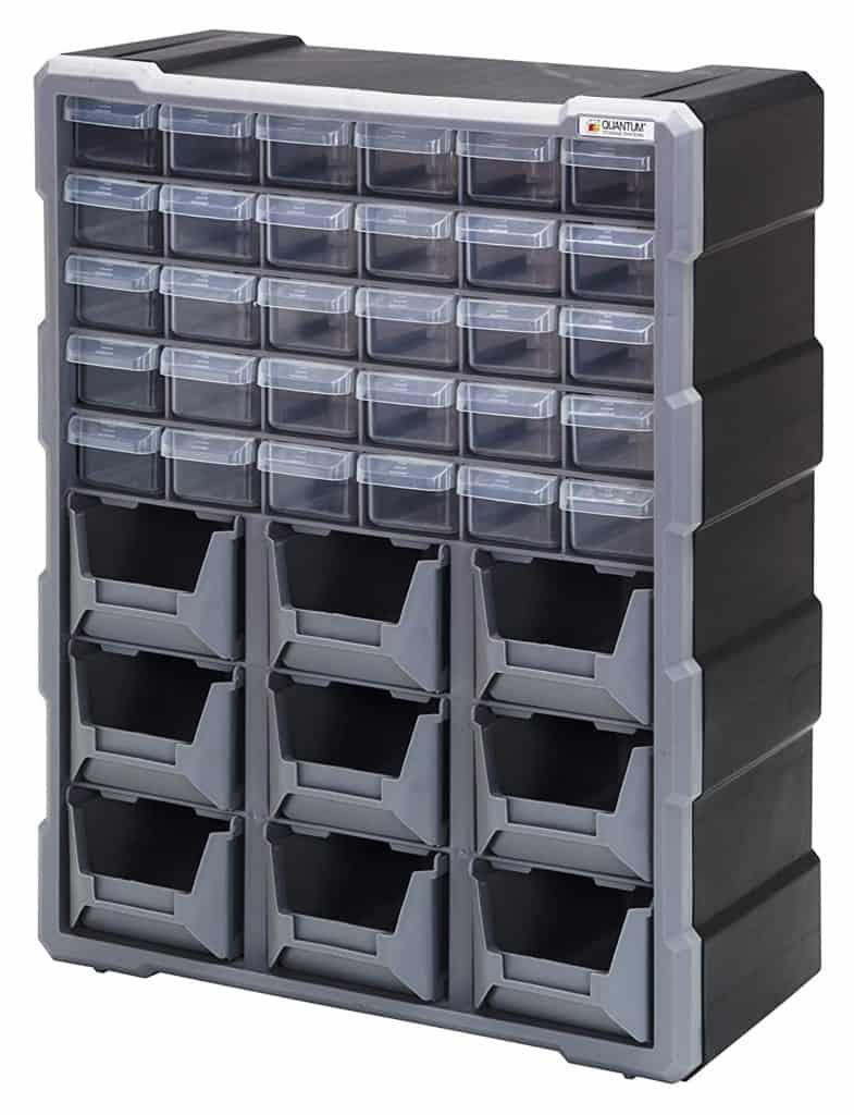 Garage storage ideas - this organizer can help you organize your hardware
