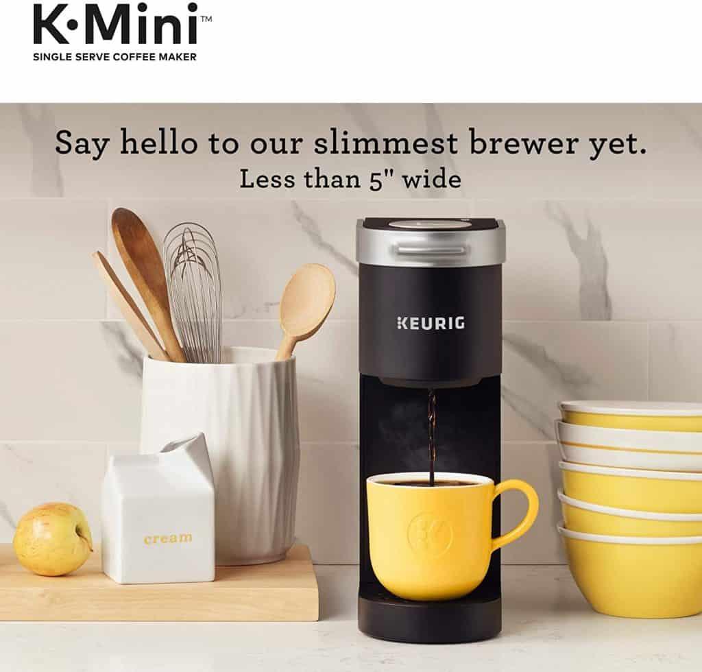 K Mini Coffee maker by Keurig