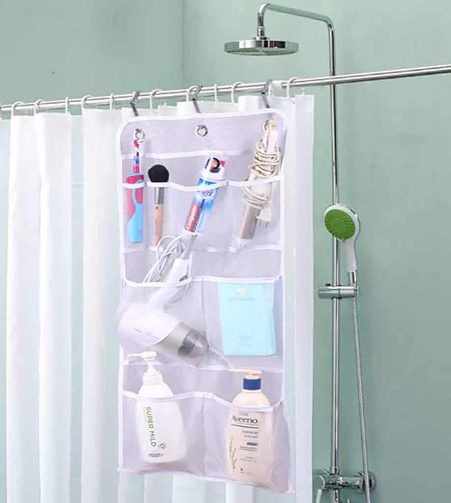 A hanging pocket like this makes a great versatile rv organization accessory
