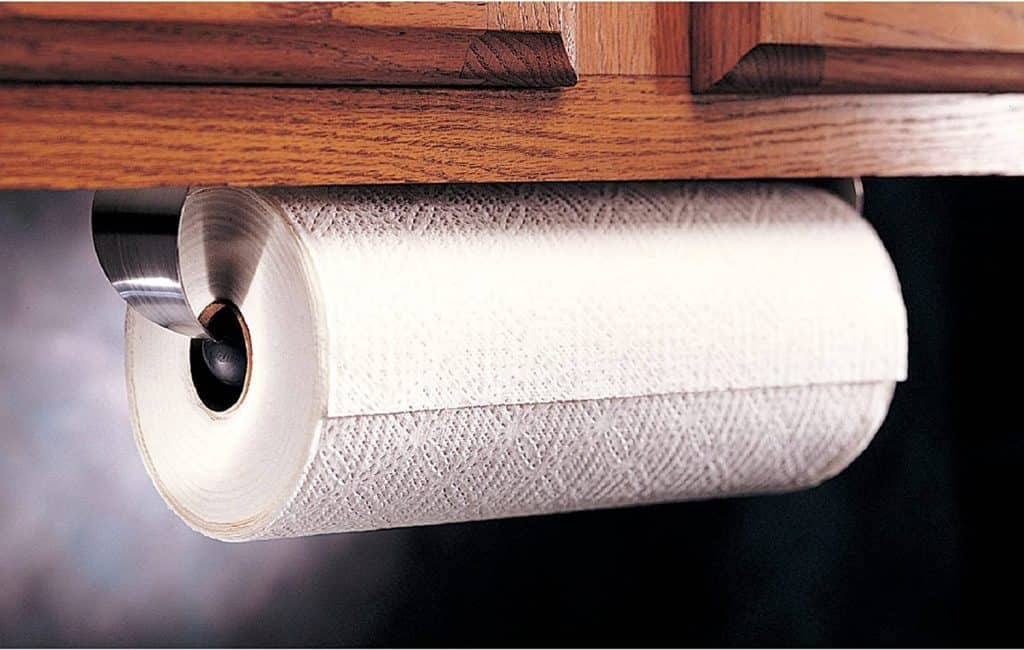 Paper towel holder for RV