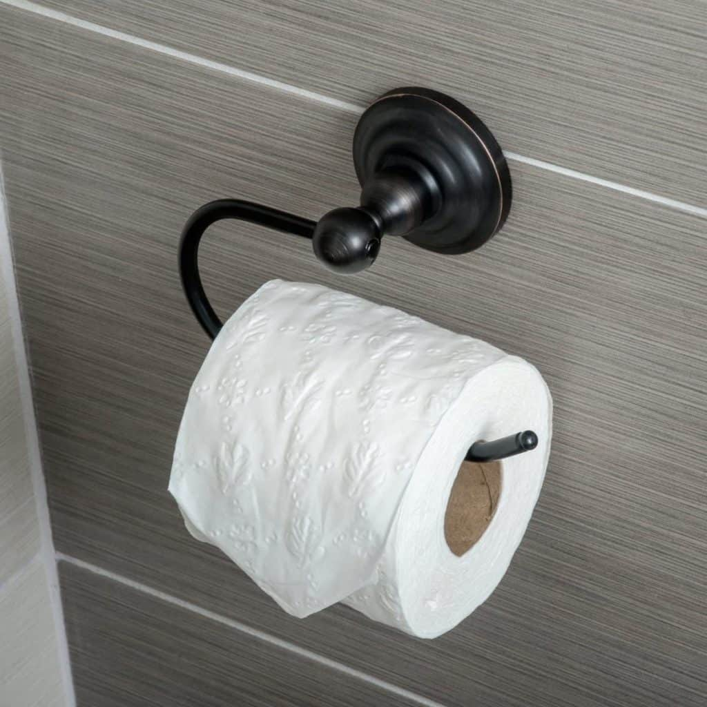 Toilet Paper holder ideas - traditional euro styled TP holder