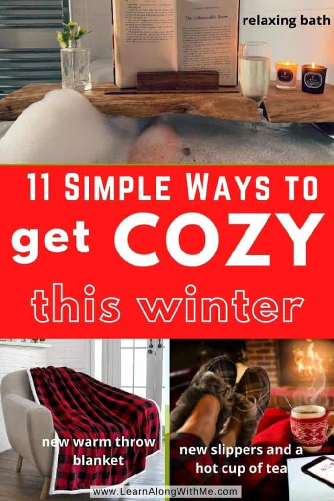 11 Simple Ways to get Cozy this Winter (get your hygge on)
