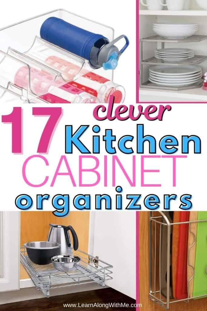 Kitchen Cabinet Organization Ideas and clever kitchen organizers