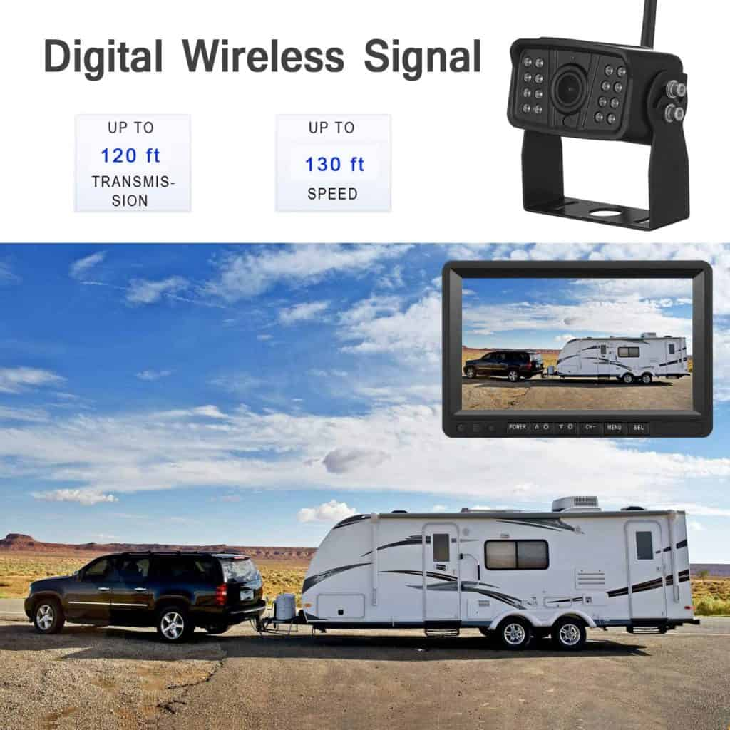 Gifts for RV Owners  - a backup camera to help back up RV's into campsites