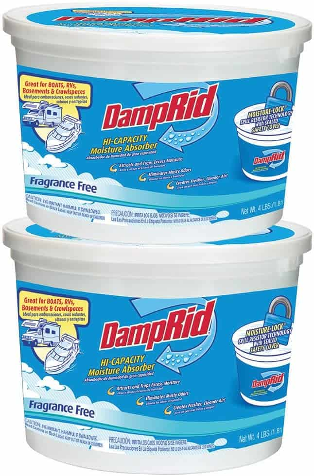 How to stop RV windows from sweating - DampRid can help reduce moisture in the air of your RV
