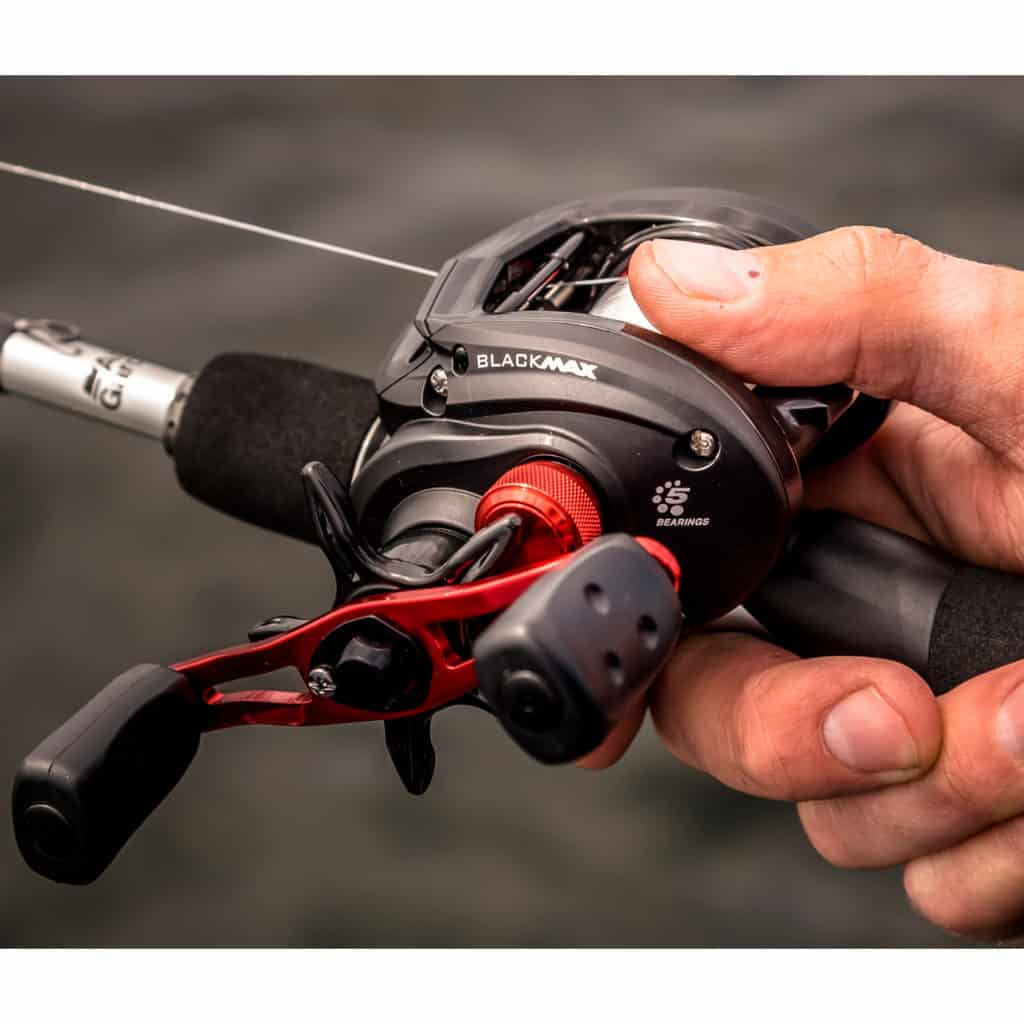 Christmas gift ideas for fishermen and fisherwomen - the Abu Garcia Black Max Rod and Reel combo