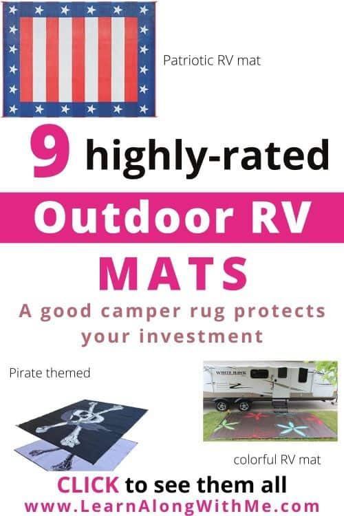 9 Highly rated Outdoor Mats for Campers and RV outdoor  mats