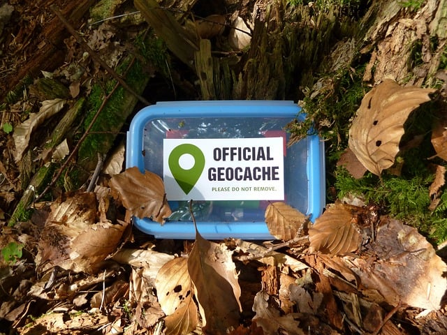Geocaching is like modern day treasure hunting and you can use your phone to search for these treasures while camping