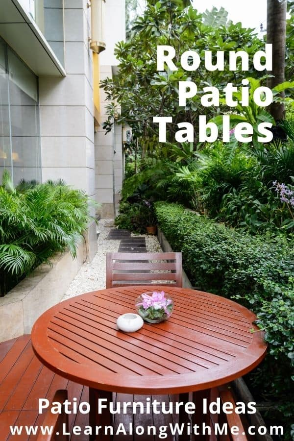 Patio Table ideas - round patio tables