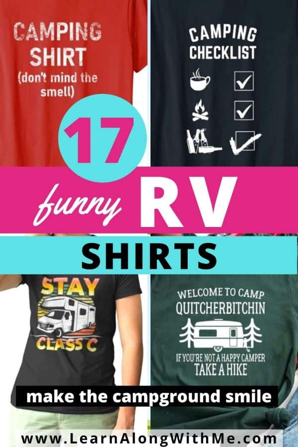17 funny RV shirts to make the campground smile