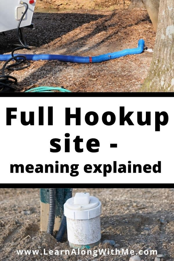 Full hookup site meaning explained.