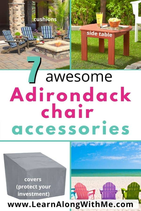 7 awesome Adirondack Chair Accessories
