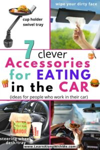 accessories for eating in the car