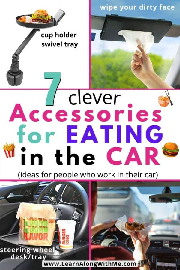 7 clever Accessories for Eating in the Car