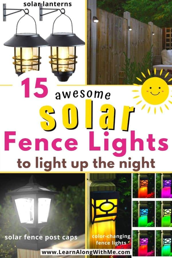 15 awesome solar fence lights