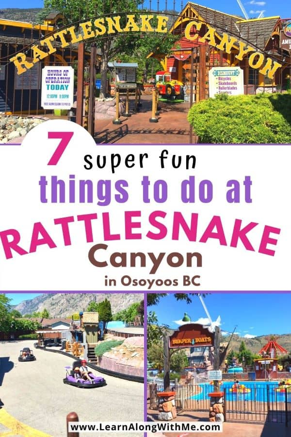 Rattlesnake Canyon Osoyoos - an amusement park in Osoyoos BC