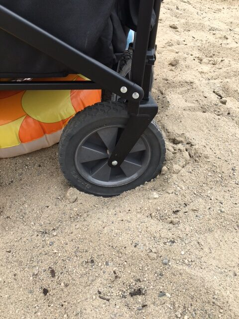MAC Sports folding wagon model WTC aren't great in the sand