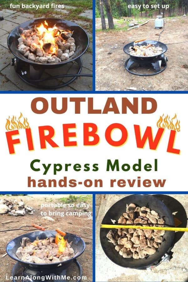 Outland Firebowl Review of the Cypress Model. A hands-on review of this portable fire pit.