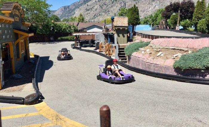 Osoyoos Go Karts at Rattlesnake Canyon Amusement park