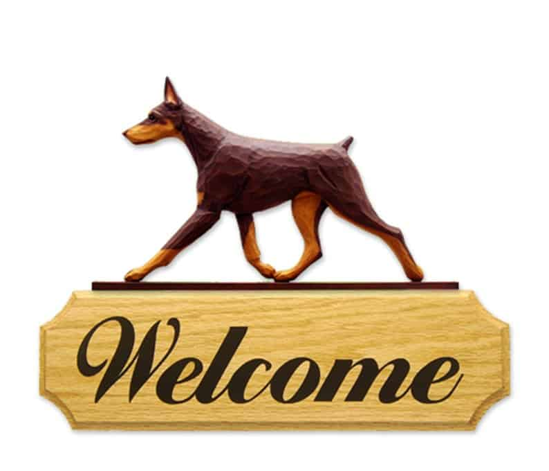 welcome yard signs for dog lovers