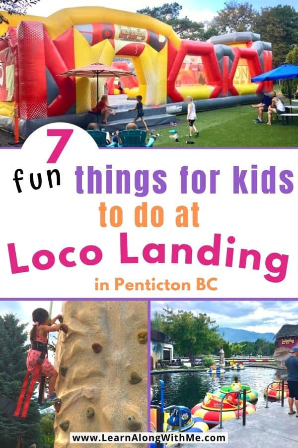 7 fun things to do at loco landing in Penticton BC