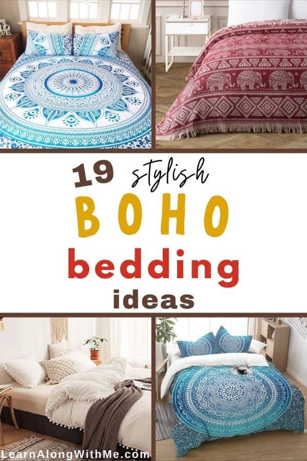 19 stylish Boho bedding ideas