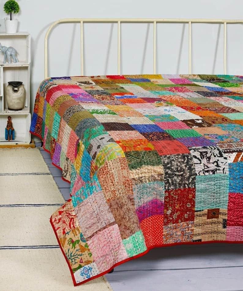 Boho bedding quilt