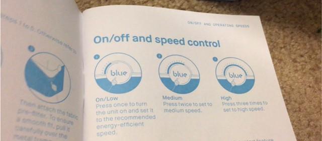 how to control the Blueair Blue Pure 211+ air purifier