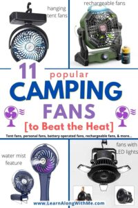 camping fan options to help beat the heat