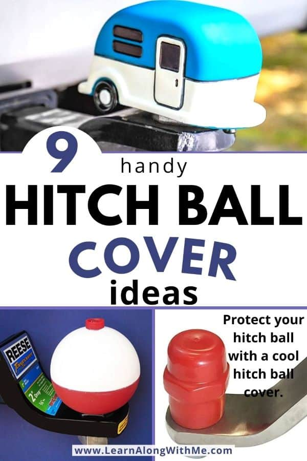 Hitch Ball Cover Ideas