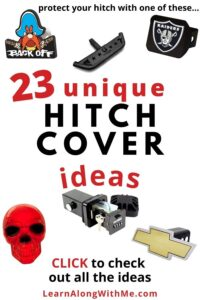 Unique Hitch Covers for your truck or tow vehicle