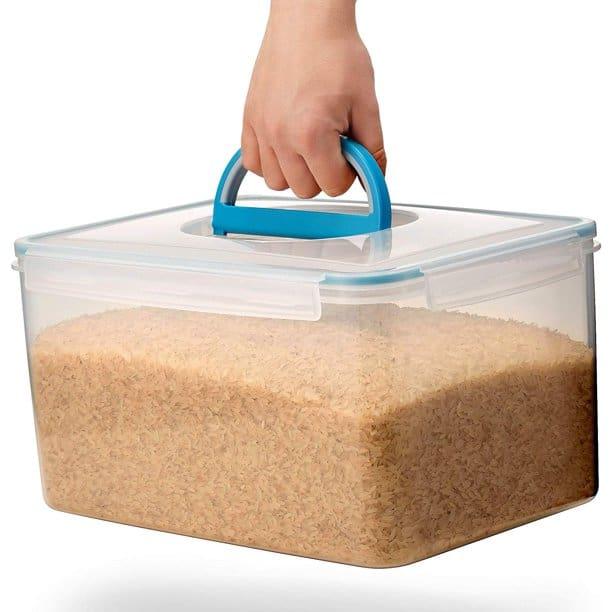 Airtight Rice Storage Container by Komax Biokips.