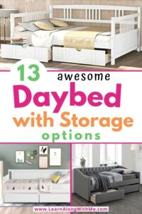 13 awesome daybed with storage options