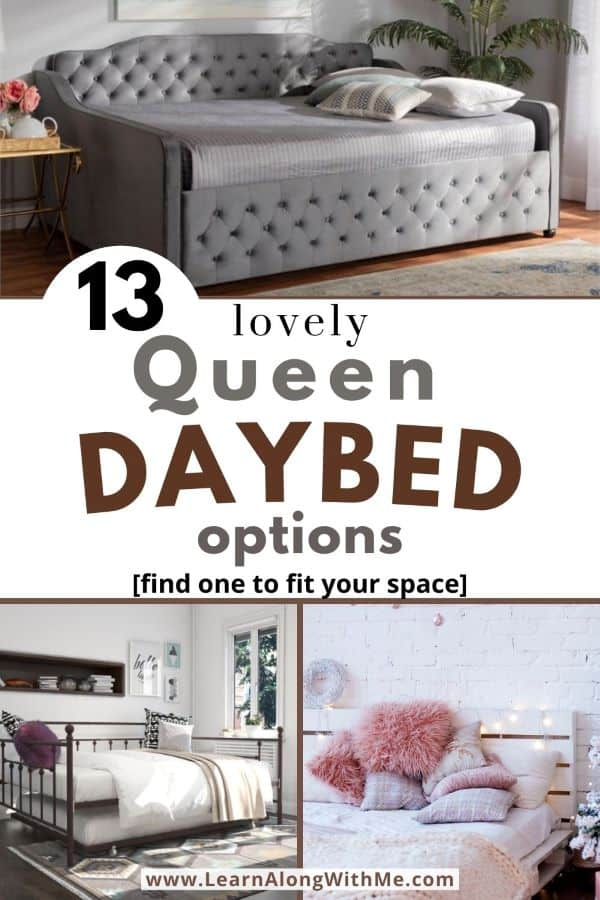 Queen Daybed Options - featuring 13 lovely queen size daybed options.